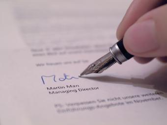 Solicitando uma Carta de Referência de Emprego