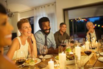 Texto do convite para jantar