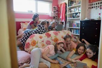 Ideias divertidas para adolescentes do pijama