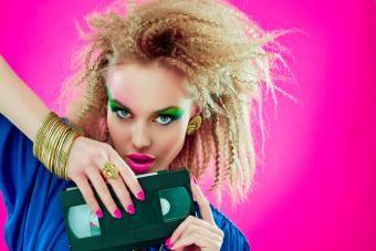 Looks de maquiagem dos anos 80