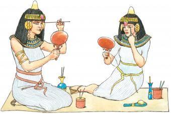 História da maquiagem no Egito
