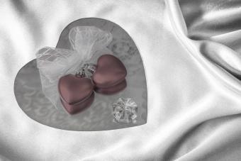 LOVE Espelho Compacto Em Forma De Coração Lembrancinhas Para Casamento