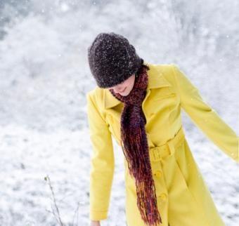 كيفية ارتداء وشاح الشتاء