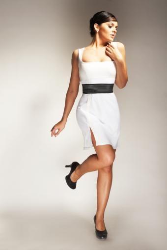 Drobne zdjęcia mody damskiej